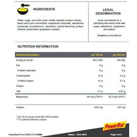 PowerBar Bevanda elettrolitica 1l, Strawberry-Lime